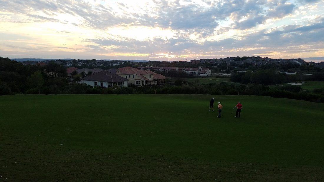 UT Golf Club - View of Fairway at Sunset