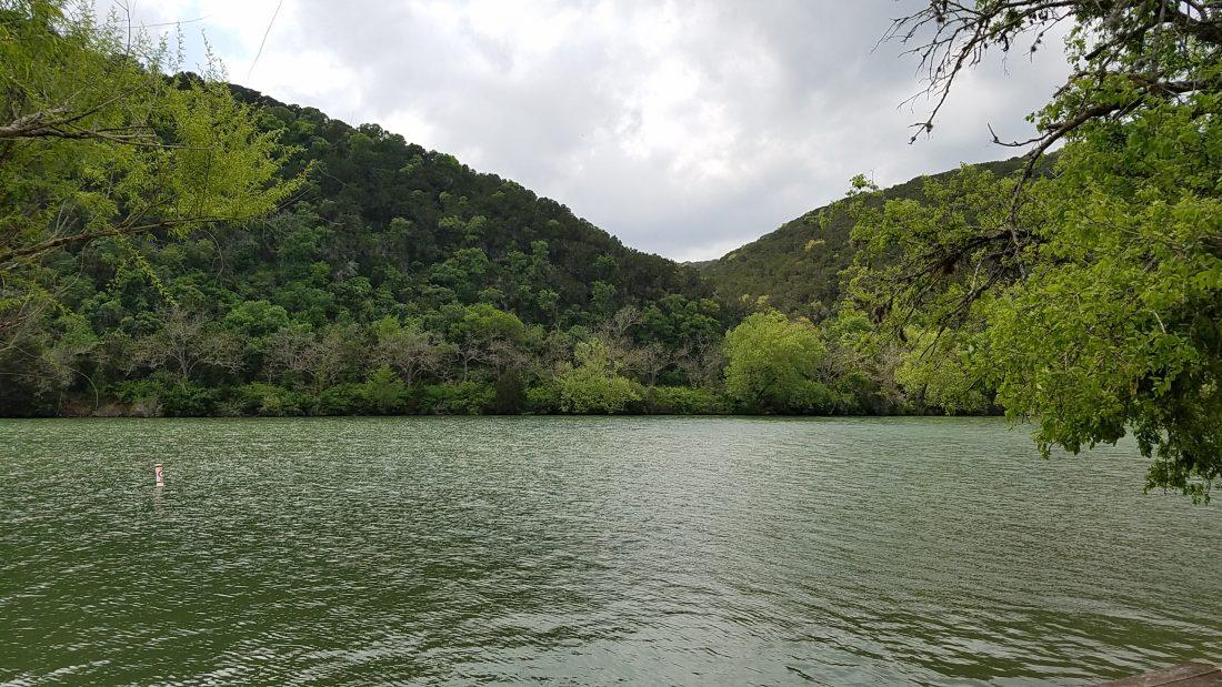 Lake Austin from Steiner Ranch Lake Club
