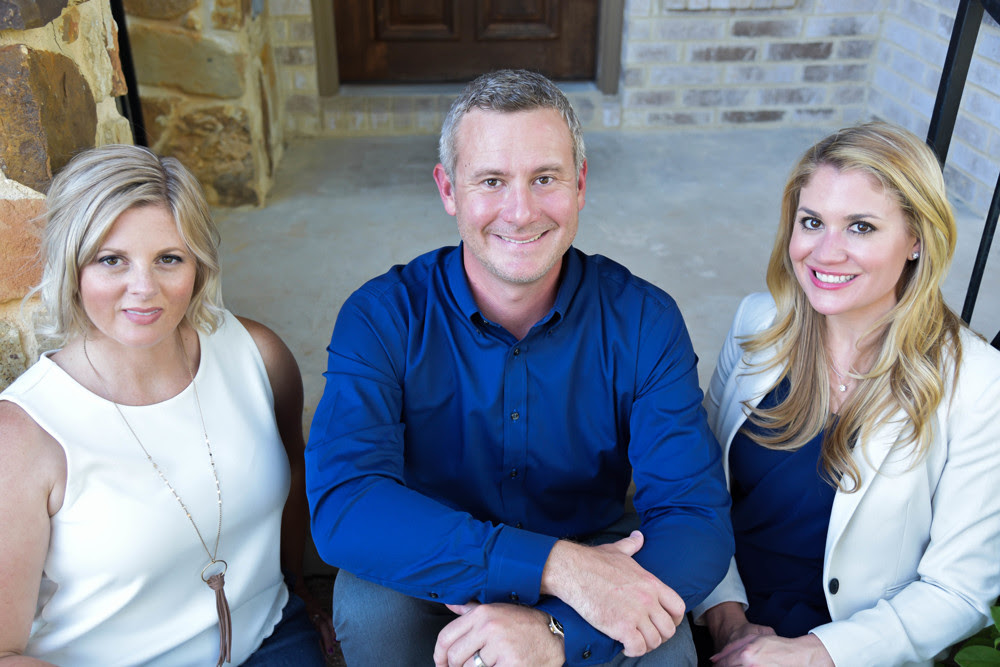 Photo of the Steiner Life Real Estate Team: Sarah George, Joseph Ensor and Shannon Ensor