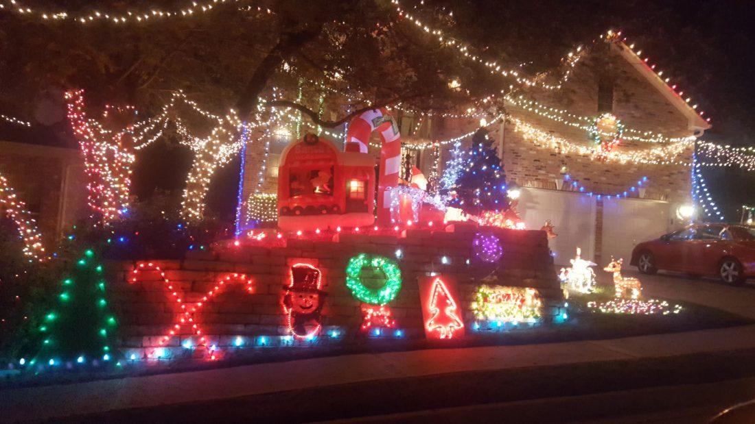 Holiday Light Display #2 - Steiner Ranch