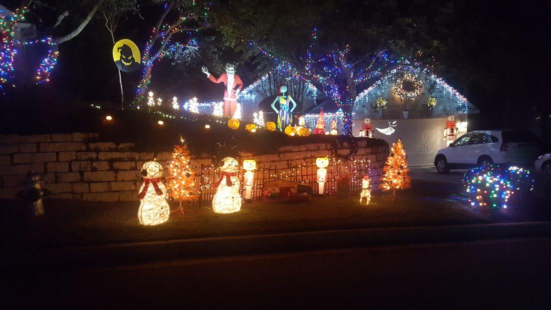 Holiday Light Display #1 - Steiner Ranch