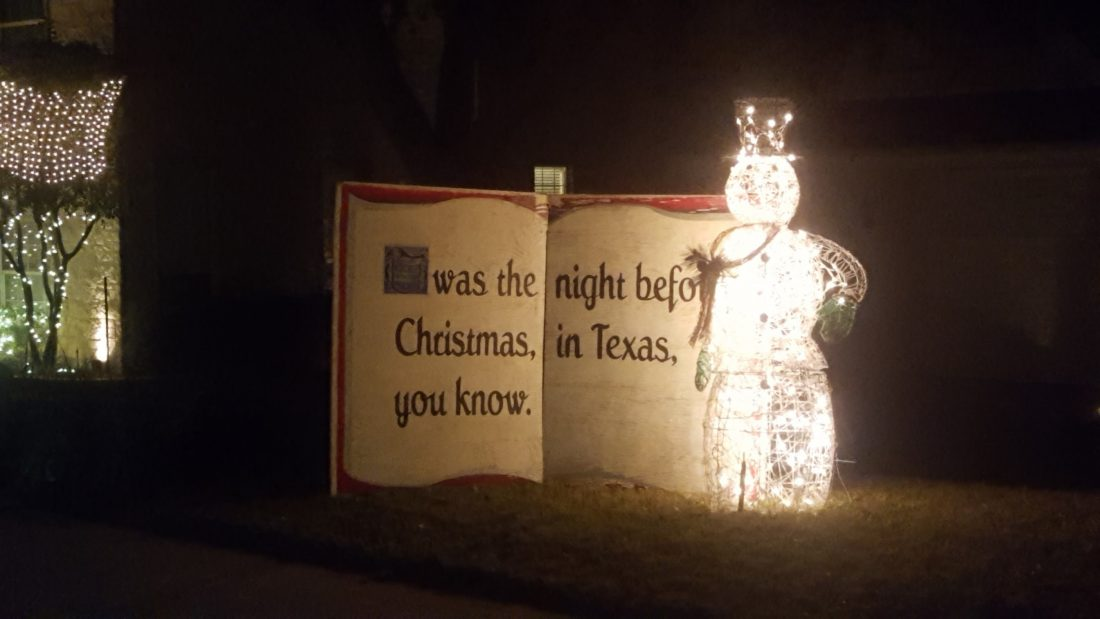 Holiday Light Display #4 - Steiner Ranch