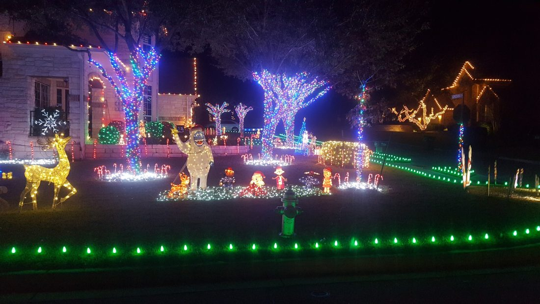 Holiday Light Display #3 - Steiner Ranch